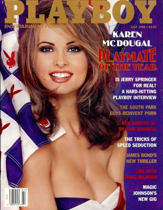 INTERVIEW. In Playboy Magaine, July 1998. Jerry SPRINGER
