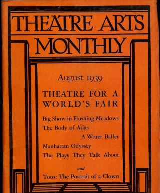 Theatre Arts Monthly, August, 1939. Edith J. R. ISAACS