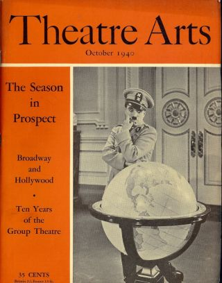 Theatre Arts Magazine, October, 1940. Edith J. R. ISAACS