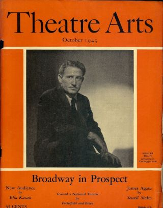 Theatre Arts Magazine, October, 1945. Edith J. R. ISAACS