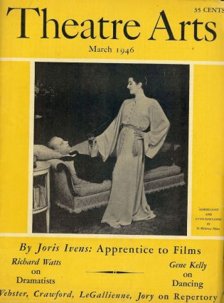 Theatre Arts Magazine, March, 1946. Edith J. R. ISAACS
