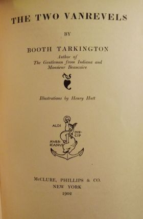 THE TWO VANREVELS. Booth TARKINGTON