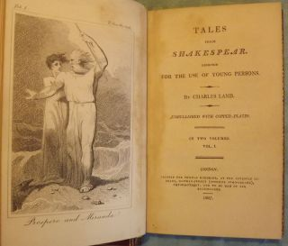 TALES FROM SHAKESPEARE: DESIGNED FOR THE USE OF YOUNG PEOPLE. TWO VOLUMES