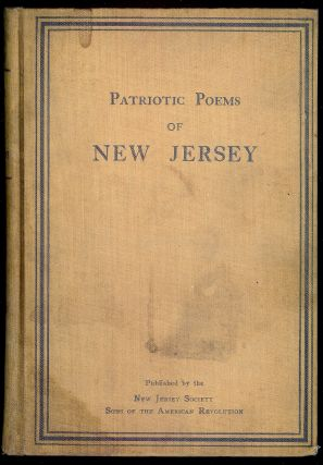 PATRIOTIC POEMS OF NEW JERSEY. William Clinton ARMSTRONG