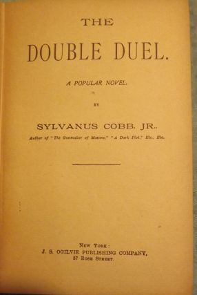 THE DOUBLE DUEL: A POPULAR NOVEL