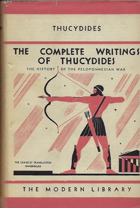 THE COMPLETE WRITINGS OF THUCYDIDES
