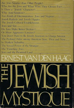 THE JEWISH MYSTIQUE. Ernest Vanden HAAG