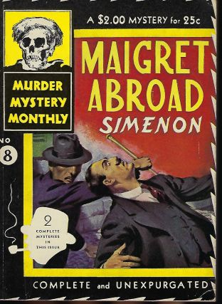 MAIGRET ABROAD. In Murder Mystery Monthly #8