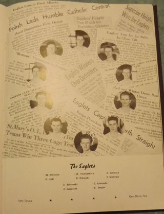 THE EAGLE: NINETEEN FORTY SEVEN. VOL. X. SAINT MARY'S COLLEGE YEAR BOOK 1947