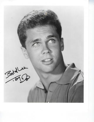 LEAVE IT TO BEAVER: SIGNED PHOTOGRAPH. Tony DOW