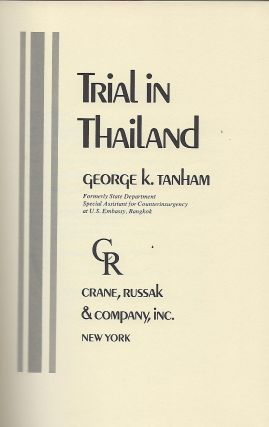 TRIAL IN THAILAND