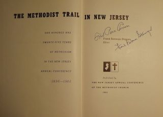 THE METHODIST TRAIL IN NEW JERSEY