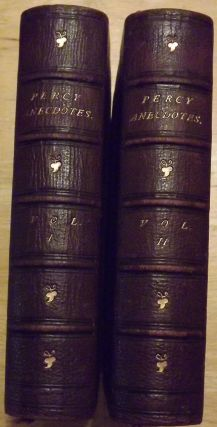 THE PERCY ANECDOTES. TWO VOLUMES. Reuben PERCY, Sholto