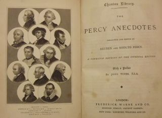 THE PERCY ANECDOTES. TWO VOLUMES.