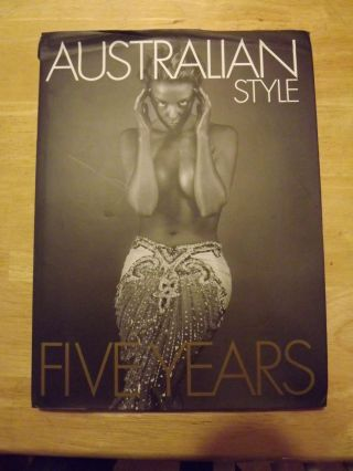 AUSTRALIAN STYLE FIVE YEARS. Mark MORDUE.