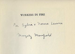 WORKERS IN FIRE: A BOOK ABOUT POETRY