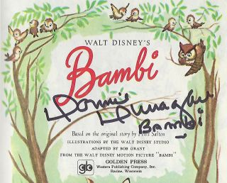 WALT DISNEY'S BAMBI. A LITTLE GOLDEN BOOK