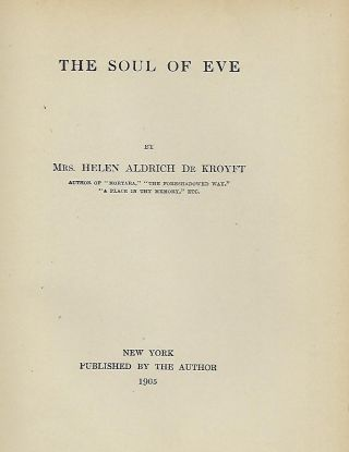 THE SOUL OF EVE