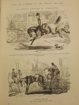 "JOHN LEECH'S PICTURES OF LIFE AND CHARACTER FROM THE COLLECTION OF ""MR. PUNCH."" IN THREE VOLUMES"