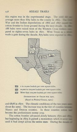 ALKALI TRAILS: OR SOCIAL AND ECONOMIC MOVEMENTS OF THE TEXAS FRONTIER 1846-1900.