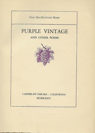 PURPLE VINTAGE AND OTHER POEMS
