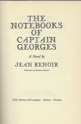 THE NOTEBOOKS OF CAPTAIN GEORGES