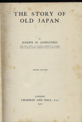 THE STORY OF OLD JAPAN