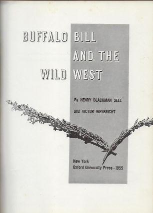 BUFFALO BILL AND THE WILD WEST