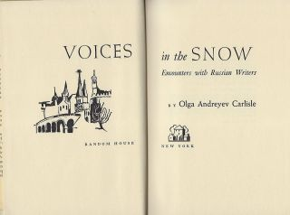 VOICES IN THE SNOW.