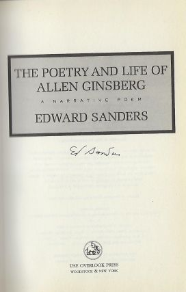 THE POETRY AND LIFE OF ALLEN GINSBERG: A NARRATIVE POEM
