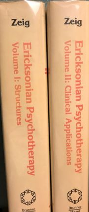 ERICKSONIAN PSYCHOTHERAPY TWO VOLUMES: STRUCTURES/CLINICAL APPLICATIONS.