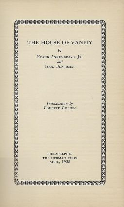 THE HOUSE OF VANITY.