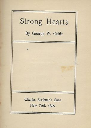 STRONG HEARTS.