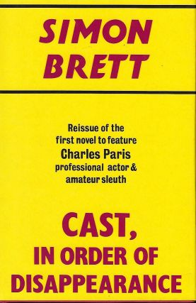 CAST, IN ORDER OF APPEARANCE: A CRIME NOVEL. Simon BRETT
