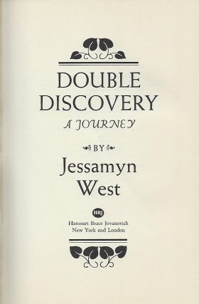 DOUBLE DISCOVERY: A JOURNEY.