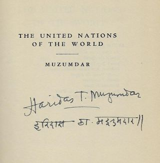 THE UNITED NATIONS OF THE WORLD: A TREATISE ON HOW TO WIN THE PEACE.