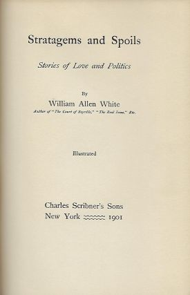 STRATAGEMS AND SPOILS: STORIES OF LOVE AND POLITICS.