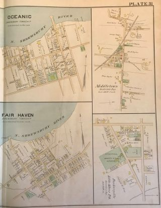 MIDDLETOWN/ RUMSON/ FAIR HAVEN/ LITTLE SILVER, 1889