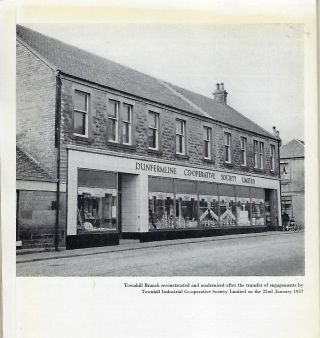 THE STORY OF THE CENTURY: DUNFERMLINE CO-OPERATIVE SOCIETY LIMITED 1861-1961.