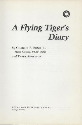 A FLYING TIGER'S DIARY