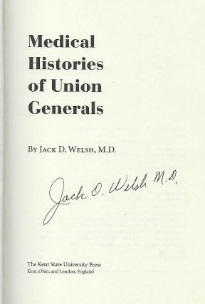 MEDICAL HISTORIES OF UNION GENERALS.