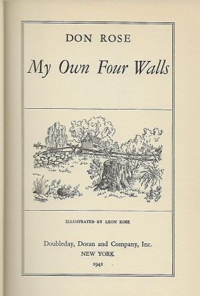 MY OWN FOUR WALLS.