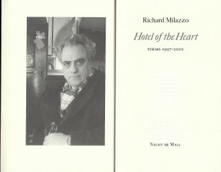 HOTEL OF THE HEART: POEMS 1997-2001.