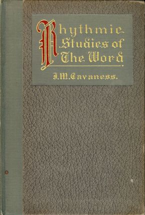 RHYTHMIC STUDIES OF THE WORD