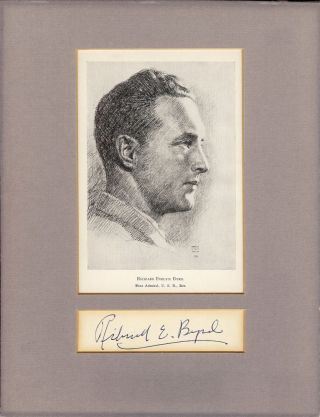 Autograph Signature. Richard E. BYRD