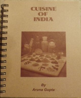CUISINE OF INDIA. Aruna GUPTA