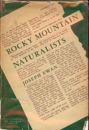 ROCKY MOUNTAIN NATURALISTS. Joseph EWAN