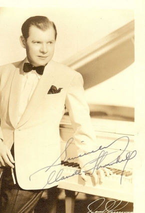SIGNED PHOTOGRAPH. Claude THORNHILL