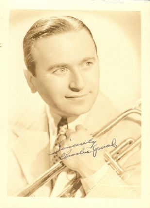 SIGNED PHOTOGRAPH. Charlie SPIVAK