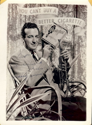 SIGNED PHOTOGRAPH. Harry JAMES